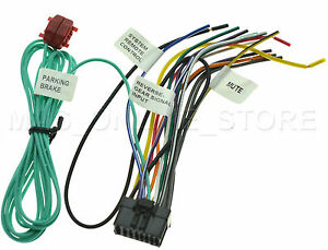 wire harness for pioneer avh p4400bh avhp4400bh pay today. Black Bedroom Furniture Sets. Home Design Ideas