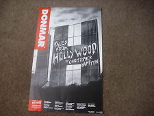 TALES FROM HOLLYWOOD  by Christopher Hampton  DONMAR Theatre Original Poster