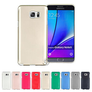 GOOSPERY-Ring2-i-Clear-Jelly-Metal-Metallic-Cover-Galaxy-Note9-Note8-Note5-Case