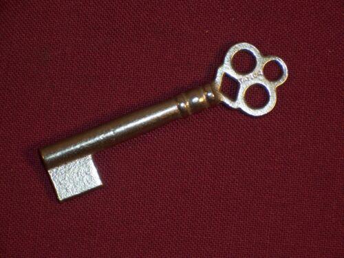 Antique Furniture Lock Doors Drawers Padlock ab22 Skeleton Bit Key Vintage
