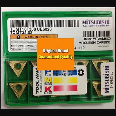 10pcs CCMT09T304 UE6020 Ccmt 32.51 Plaquettes Carbure CNC Travail Supplies Kit