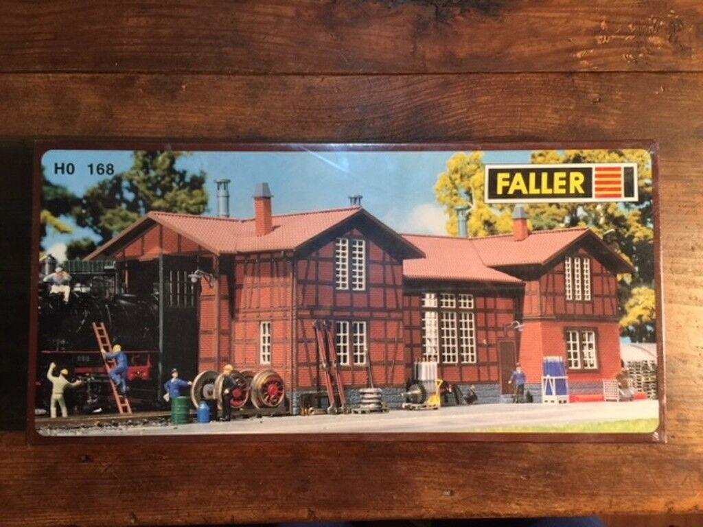 Faller  one-establo Engine Shed  ho 168 sealed en Box