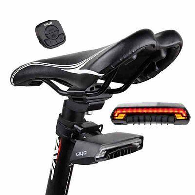 NEW Bike Wireless Remote USB Rear Tail Laser LED Indicator Turn Signal Light