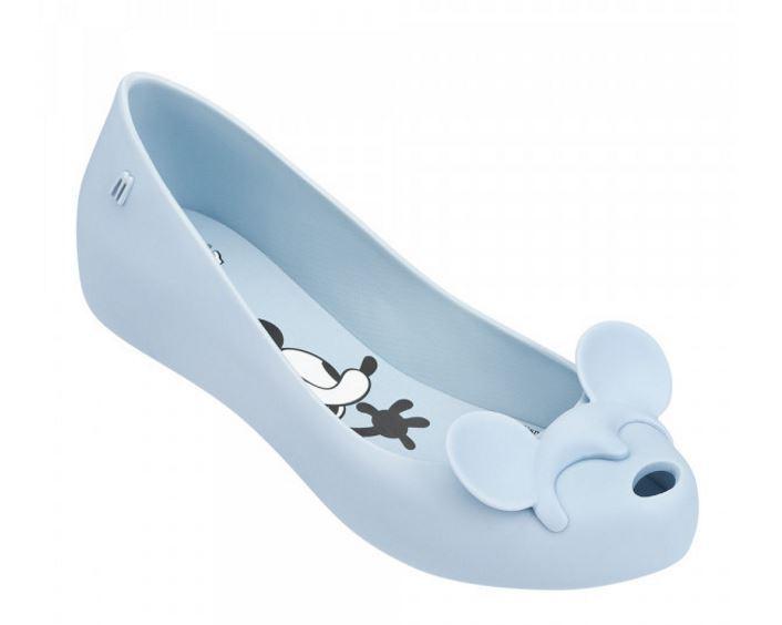 NIB Melissa Ultragirl + Ballet Minnie III Disney Licensed Vegan Ballet + Flats Mashup 558471