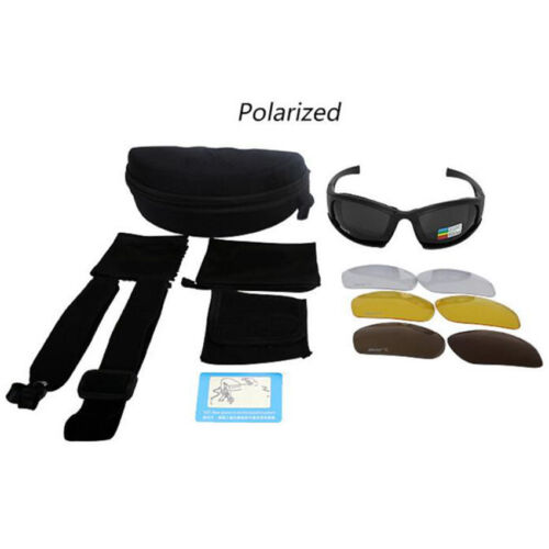 Motorcycle Riding Glasses Polarized Sunglasses Eyewear Hunting Shooting Eyewear