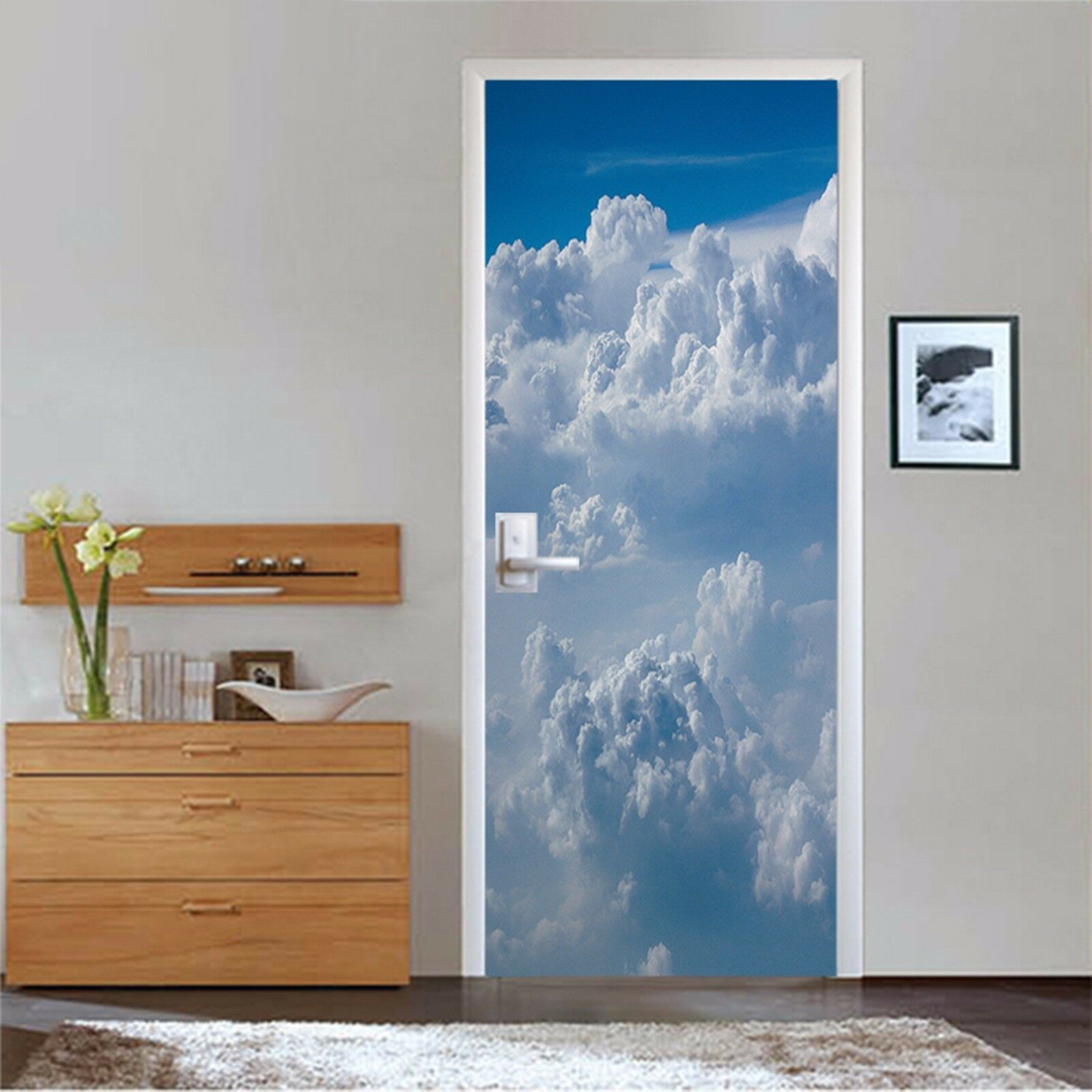 3D Wolken 755 Tür Wandmalerei Wandaufkleber Aufkleber AJ WALLPAPER DE Kyra   Vielfältiges neues Design    Lassen Sie unsere Produkte in die Welt gehen    Verschiedene Waren
