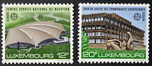 Briefmarken / Briefmarke Luxemburg Yvert und n tellier°1124 à 1125 NSG (cyn10)