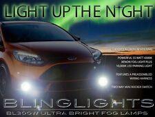 2012 2013 2014 Ford Focus Xenon Halogen Fog Lamps Driving Lights Kit Mk3
