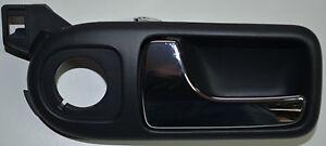 VW LUPO SEAT AROSA POIGNEE PORTE INTERIEURE AVANT GAUCHE CHROME NOIR ...