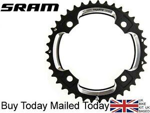 SRAM White x Black Truvativ MTB 42T Chainring BCD 120mm S2 L-Pin GXP