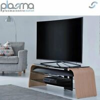 Alphason Spectrum Adsp1600-lo Light Oak Tv Stand For Up To 75 Tvs