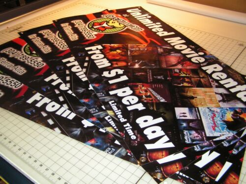 Same Day Shipping 5/' x 12/' Full Color Custom Banner 13oz Vinyl