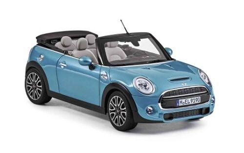 Genuine MINI Convertible 2016 Miniature Die Cast Model Car Toy Blue 80432405584