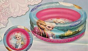 Planschbecken 100x30 cm Eiskönigin Disneys Frozen Pool Kinderpool
