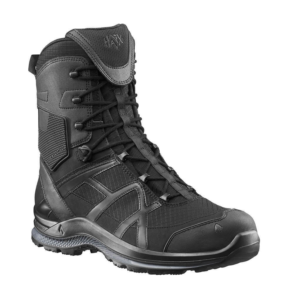 Haix nero Eagle Athletic 2.0 T High sidezipper ADVENTURE Stivali Nero Mis. 39