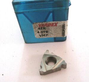 7-Filetage-Plaquettes-4ER-4-0TR-VM7-de-Vardex-Inserts-Filetes-Neuf-H30853
