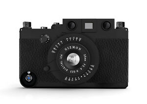 purchase cheap f71f1 20324 Details about Gizmon ICA BLACK iPhone Retro Leica Look Camera Case for  iPhone 4S/4