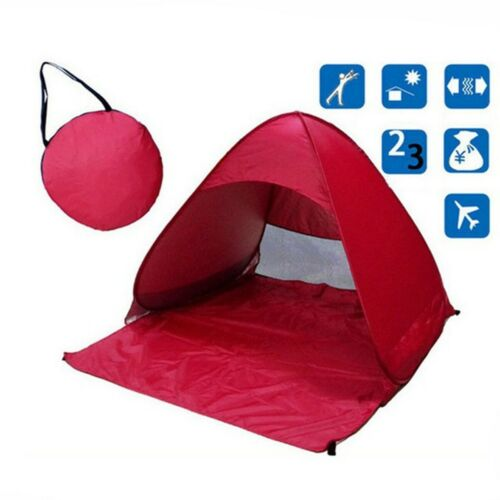 Outdoor Fast Opening Camping Tent Waterproof Light Weight Automatic Beach Tents