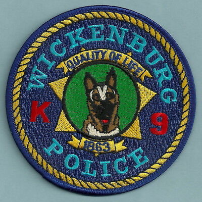 WILLIAMS ARIZONA POLICE K-9 UNIT PATCH GRAND CANYON