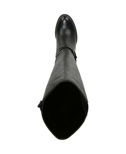 NIB Soul by Naturalizer High Shaft Heeled Boots in Black Free Shipping