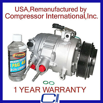New A//C AC Compressor for 2013-2016 Fusion 1.5L, 1.6L only