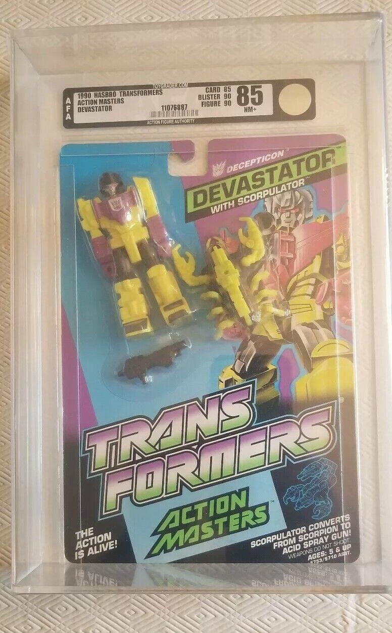 Maestros De Acción Transformers Devastator (Hasbro 1990) autoridad Figura de Acción 85 85 90 90