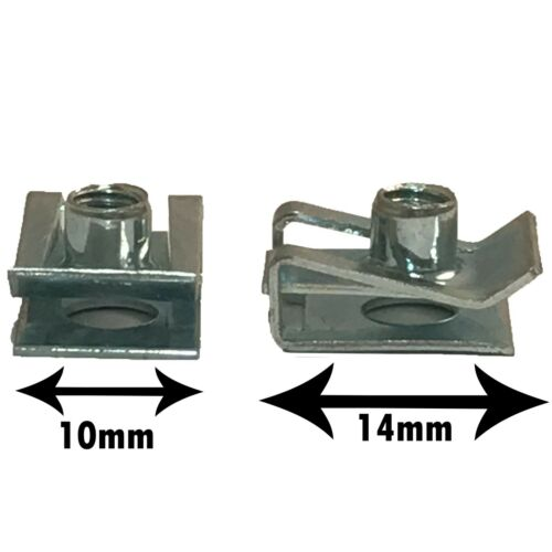 M4 M5 M6 M8 Spire Clips Cal Chimney Lug Nuts Fixings Threaded Panel Fasteners