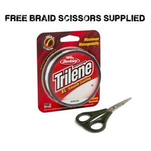 Berkley-XL-Smooth-Coarse-Fishing-Line-Supplied-With-Free-Braid-Scissors