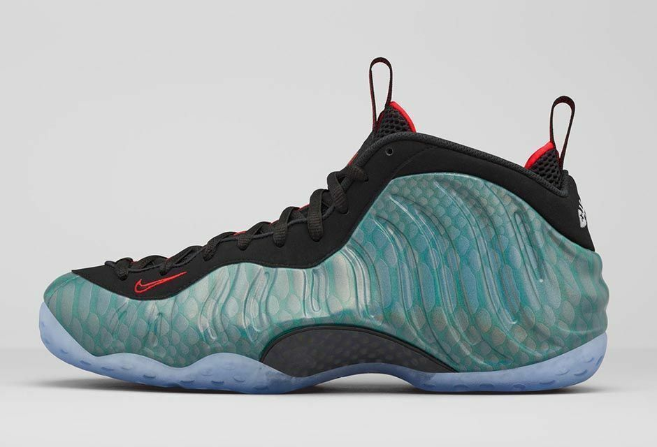 NIKE AIR FOAMPOSITE ONE GONE FISHING Size 14. 575420-300 teal penny