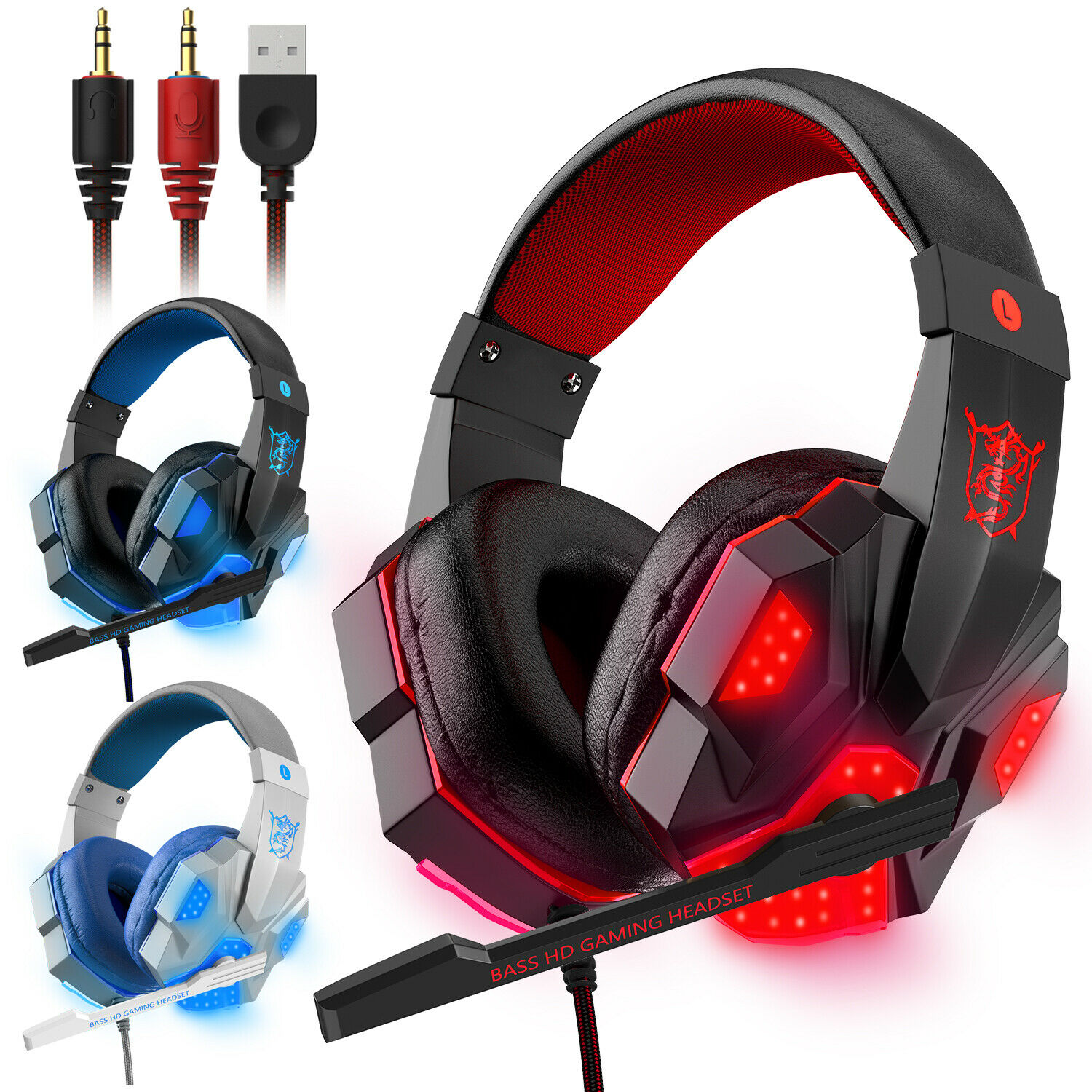 Plantronics Rig 400 Gaming Headset Headphones Mic Pc Ps4 Xbox One And Mobile For Sale Online Ebay