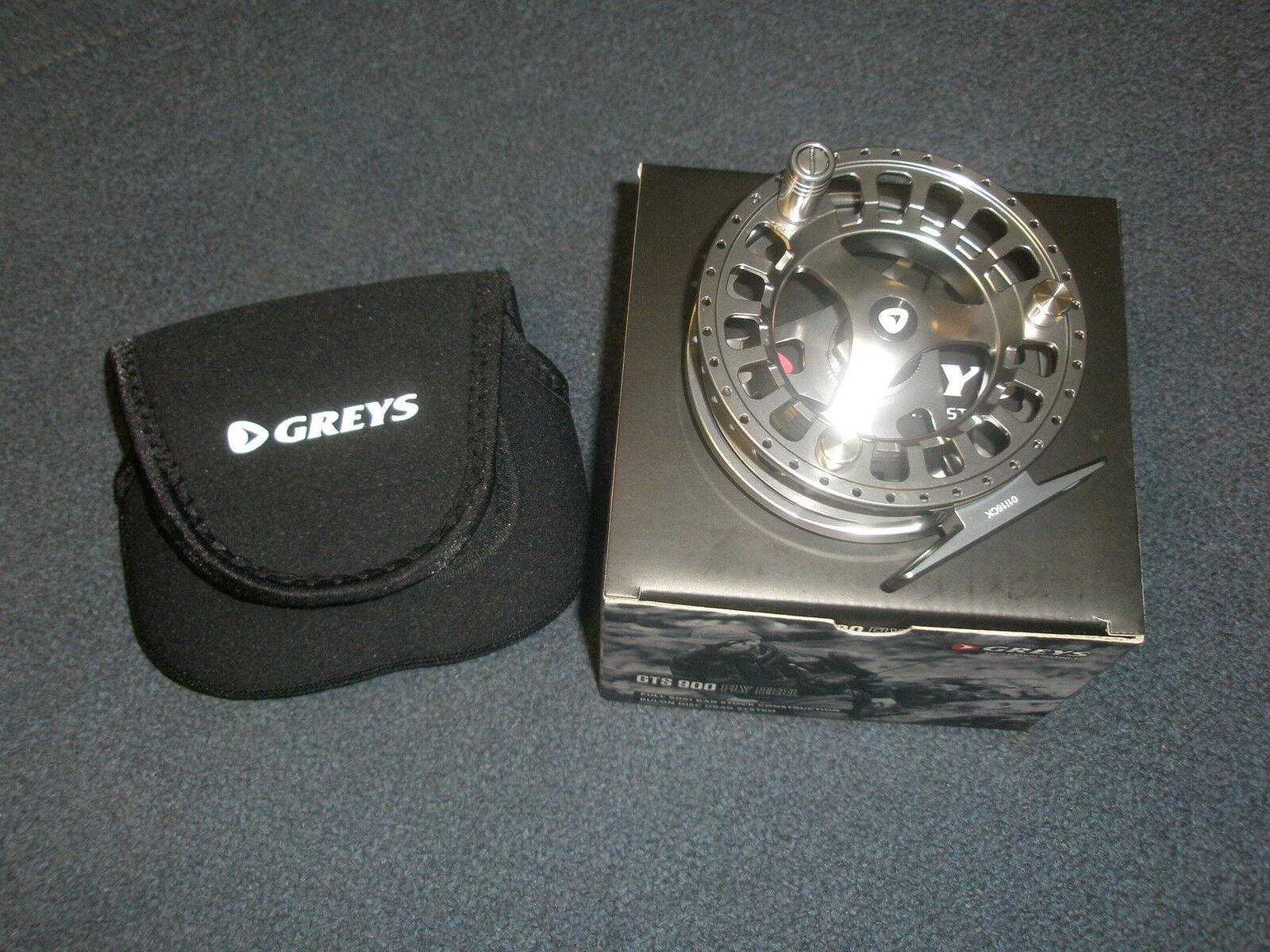 griss GTS900  10 11 12 Fly  Reel + Bolsa De Neopreno aparejos de pesca  clásico atemporal