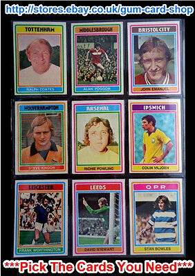 -#315- MIDDLESBROUGH TOPPS-FOOTBALL BLUE BACK 1976 DAVID MILLS