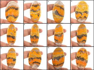 Natural-Bumble-Bee-Jasper-Top-Quality-Beautiful-Huge-Cabochon-Gemstones