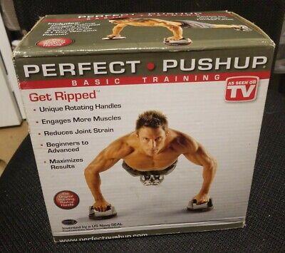 Pair Perfect Fitness Perfect Pushup Elite Free ship Rotating Push Up Handles