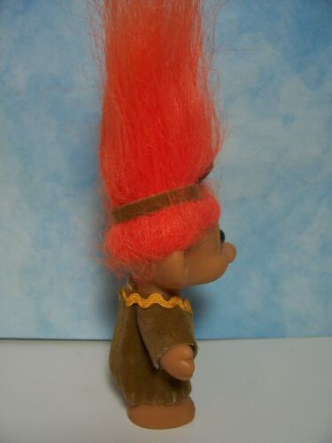 Russ Troll Dolls NEW IN ORIGINAL WRAPPERS INDIAN CHILDREN SET