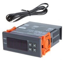 110V LCD Digital Temperature Controller Temp w/ Sensor Thermostat Control relay