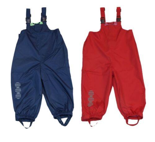 Minymo Bambini Pioggia Pantaloni 3624 fanghiglia pantaloni con spalline 74 80 86 92 98 104 110 116