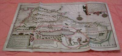 Das Nordöstliche Südamerika Während Des Entdeckungszeitalter 1540 - Replikat