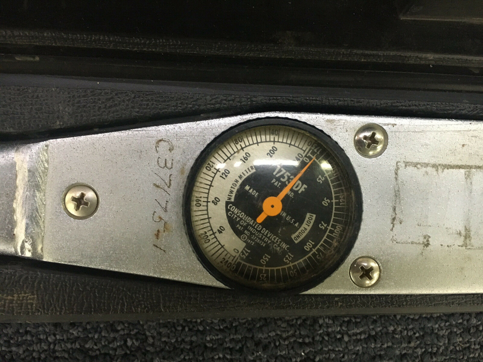Consolidated Devices Torque Wrench 1753 DF w/ Case