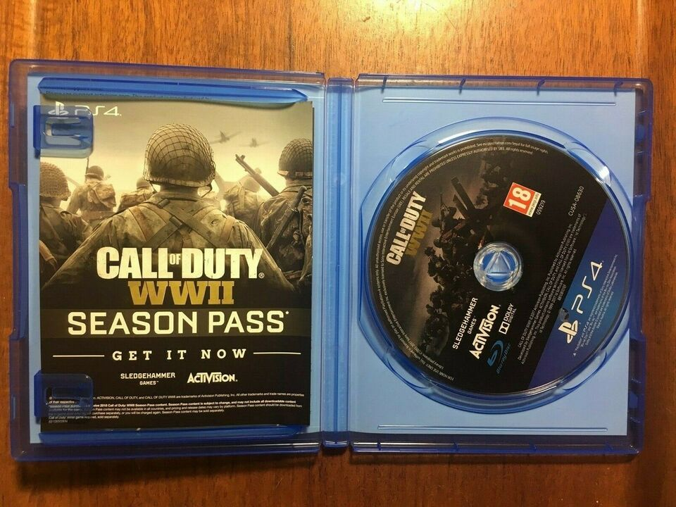 Call Of Duty WW2, PS4, action