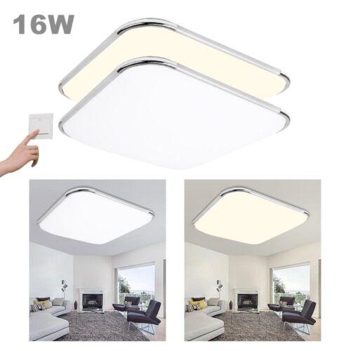 96W Deckenlampe Wohnzimmerlampe Deckenstrahler Badleuchte LED Deckenleuchte 12W