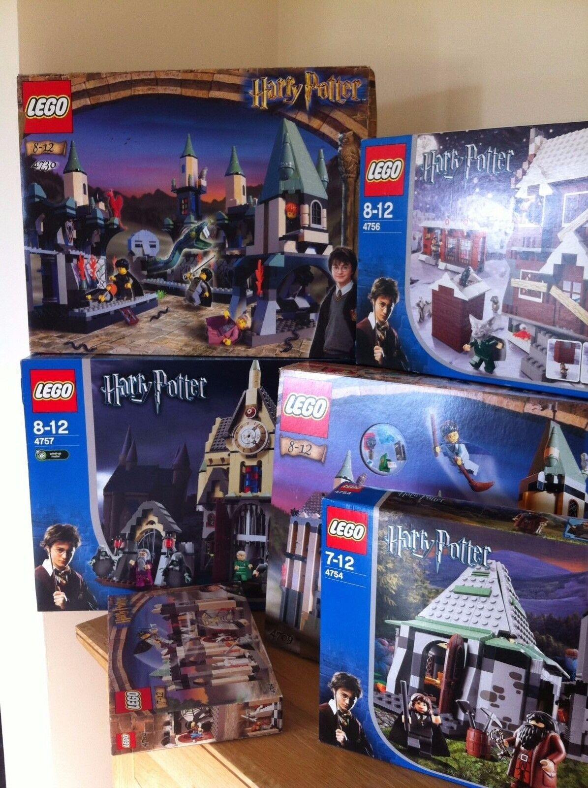 LEGO Harry Potter stamberga strillante 4756 100% COMPLETO RARO & in pensione