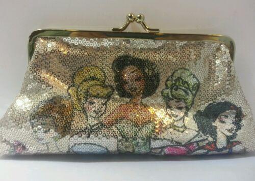 Sequin Princess Designer Disney ClutchZeldzaam Collection uPkiOXZ