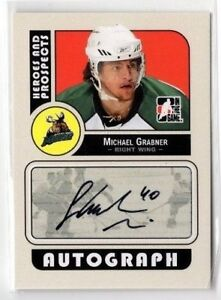 2008-09-ITG-HEROES-AND-PROSPECTS-AUTO-MICHAEL-GRABNER-A-MG