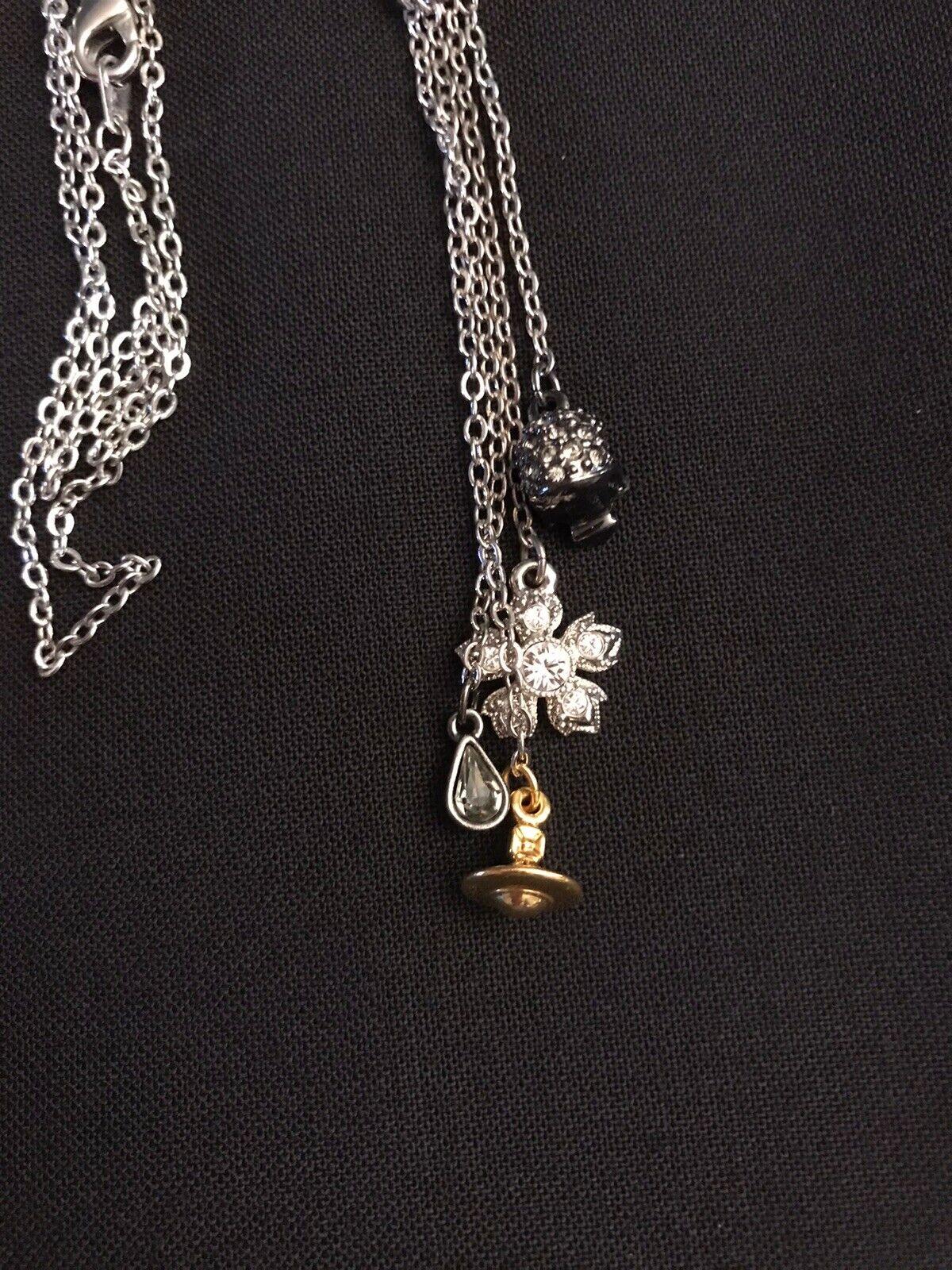 Vivienne Westwood Necklace Skull, Orb & More. Sil… - image 10