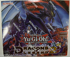 Yu-gi-oh! Yugioh Dragons of Legend 2 Factory Sealed 1st Edition Booster Box