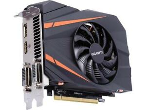 GIGABYTE GeForce GTX 1060 Mini ITX OC 3GB GV-N1060IXOC-3GD Video Card