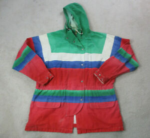 VINTAGE-Ralph-Lauren-Polo-Jacket-Adult-Extra-Large-Red-Green-Sailing-RL93-Mens