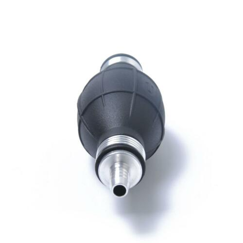 "8mm 5//16/"" Marine Boat RV Rubber Fuel Hose Hand Primer Bulb In-line Black"