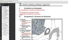 Seat Leon 2012-2018 Werkstatthandbuch-Reparaturanleitung auf Deutsch